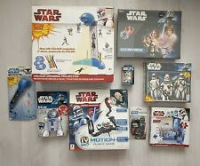 Star Wars clone Bundle Jigsaw Drawing Light Board Game controller Remote toys