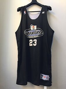 VINTAGE 90s CLEVELAND CAVALIERS TEAM ISSUED JERSEY LEBRON JAMES THROWBACK PE