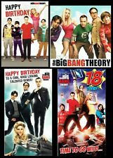 THE BIG BANG THEORY ~ OFFICIAL BIRTHDAY OR BLANK CARD ~Great Graphics