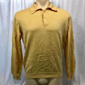 Vintage John Ashford Woolmark Mens Sweater Shirt Size M