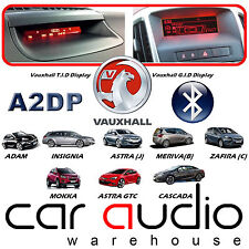 Vauxhall Insignia CD400 Bluetooth & A2DP Streaming Music Handsfree Phone Car Kit