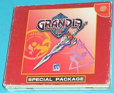 Grandia 2 Special Package - Sega Dreamcast DC - JAP