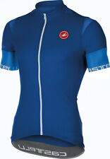 CASTELLI Entrata 2 FULL ZIP Bike CYCLING JERSEY Shirt MEN size MEDIUM (or SMALL)