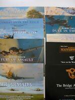 Luftwaffe Lot Aviation Art Advertising Flyers Artist Robert Taylor 10 Brochures