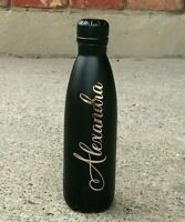 PERSONALIZED NAME DECAL FOR YOUR WATER BOTTLE DIY
