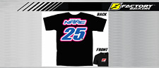 CUSTOM NAME AND NUMBER TEE MX MOTOCROSS  Style #3