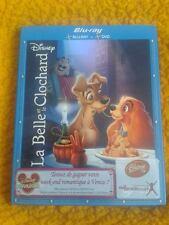 La belle et le Clochard Disney blu-ray+ dvd  N° 17