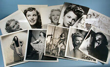1940s-1950s 21 Original Movie Star Actress Choice Photo Portraits Universal Pic