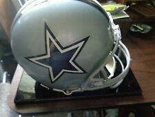 "⭐""DALLAS COWBOYS"" RIDDELL AUTHENTIC HELMET-NFL-SIGNED AIKMAN,SMITH,IRVIN."