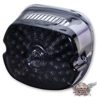 LED Rücklicht Harley Sportster Dyna Fat Boy E Glide ab 99 schwarz smoke getönt