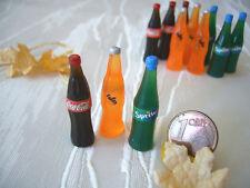 =1 x COLA + FANTA + SPRITE= Puppenküche Puppenstube Miniatur 1:12 / 1:10 by HW