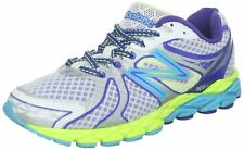 New Balance Women's W870v3 Running Shoe,White/Blue/Yellow, 5 B(M)