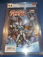 Fantastic Four #27 Mark Brooks Cover CGC 9.8 NM/M Gorgeous Gem Wow
