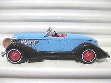 Matchbox Models of Yesteryear 1995 Y19A BLUE 1936 AUBURN SPEEDSTER 851 Mint Boxd