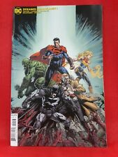 Dceased Dead Planet #1- 2Nd Print David Finch Variant, 2020, Dc Comics, Vf/Nm!