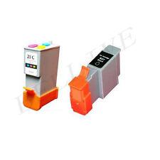 KIT 2 Cartucce per Canon BCI-21 BCI-24 i250 i320 S200 S300 MP360 MP110 MP130 BL