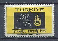 30917) Turkey 1959 MNH Secondary School 1v. Scott #1433