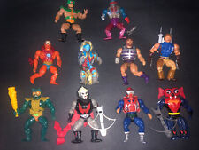 Vintage Mattel 1980's He-Man MOTU Masters Of Universe Action Figure Lot of 10