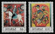 Noorwegen postfris 1974 MNH 693-694 - Volkskunst / Art