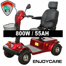 EnjoyCare X2 Medium Size Electric Mobility Scooter 800W 55Ah dual brake