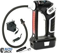 Autojack Cordless Car Tyre Inflator Handheld Air Compressor LCD Digital Display