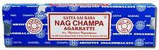 Satya Sai Baba NAG CHAMPA 15 Incense Sticks original FROM INDIA