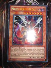 YU-GI-OH! MALEFIC RED-EYES B.DRAGON YMP1-EN001 LIMITED EDITION NEUVE MINT ENG