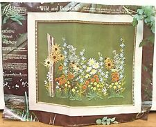 Paragon Crewel Embroidery Kit Wild & Beautiful Barbara Sparre Wildflowers 1976