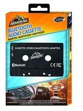 ARMOR ALL Black Bluetooth Audio Cassette Car Adapter