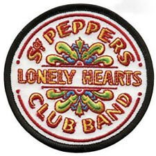 The Beatles Patch (3.5 Inch) Embroidered Iron on Badge Sgt Pepper Lonely Hearts