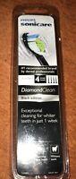 Philips Sonicare 4 Pk DiamondClean Replacement Brush Head Black Edition
