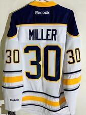 Reebok Premier NHL Jersey Buffalo Sabres Ryan Miller White sz S