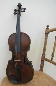 Alte 4/4  Geige Stainer mit Bogen und Kasten