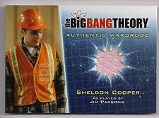 Big Bang Theory Season 5 Costume Card M21 V1 Sheldon Cooper