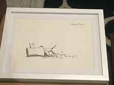 """1976 RICHARD STINE """"CHEAP THRILLS"""" Vintage Lithograph Print Signed & Numbered"""
