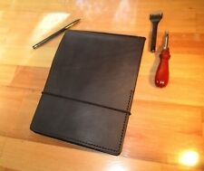 A5 Personalized Leather Art Journal, Sketch Book, Note Pad Cover,  Diary Gift