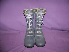 The North Face Nuptse Purna Women's Gray Winter Snow Boots New Without Tags