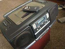 RARE TO FIND MATSUI 266 PORTABLE TWIN CD RADIO CASSETTE RECORDER
