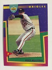 MIKE MUSSINA 1993 Upper Deck Fun Packs # 134 Orioles Hall Of Fame HOF 7/21/19