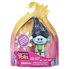 DreamWorks Trolls Branch Collectible Figure with Printed Hair