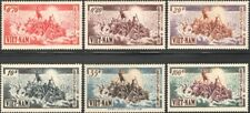 VIETNAM, 1955. Refugees 30-35 set, Mint