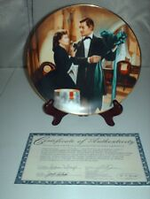 """Bradford Exchange Gone With The Wind """"THE PARIS HAT"""" COLLECTORS Plate W.L.George"""