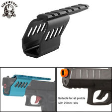 Tactical Aluminum Pistols Picatinny Scope Mount Base Fit Glock Series Airsoft