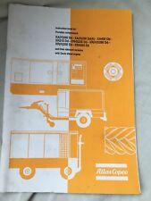 ATLAS COPCO XAH280 XAH350 XA430 XR210 ETC AIR COMPRESSOR INSTRUCTION BOOK INCVAT