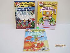 Geronimo Stilton Books, Lot of 3 Books
