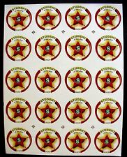 40 VINTAGE STUDENT OF THE DAY TEACHER STUDENT'S BADGES MOTIVATIONAL STICKERS LOT