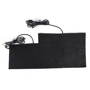 USB Warm Carbon Fiber Heated Pads Heated Jacket Coat Vest Heating&FY