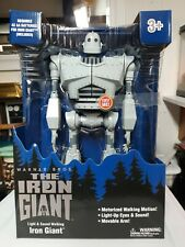 "New Goldlok The Iron Giant 14"" Motorized Walking Iron Giant Toy w/ sounds Warner"