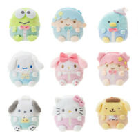My melody POM POM PURIN stuffed plush coin bag money ornament handbag bags