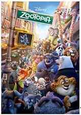 "Jigsaw Puzzles 1000 Pieces ""Zootopia"" / Disney / Toy&puzzle"